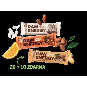 Bombus Akční balení RAW Energy 20 + 10 zdarma