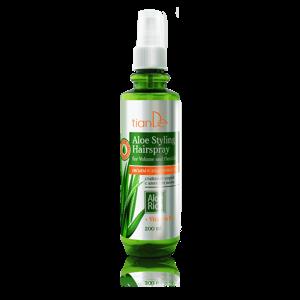 TianDe Stylingový sprej na vlasy s Aloe Objem a pružnost 200 ml