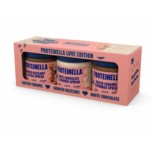 Healthyco Proteinella Love valentýnský box 3 x 200 g