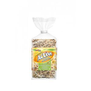 Bonavita Knackebrot Kváskový s lněnými semínky, sezamem a slunečnicí 180 g