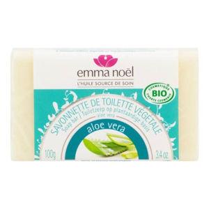 EMMA NOËL Mýdlo rostlinné aloe vera 100 g BIO