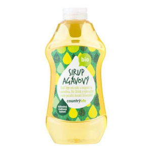 Country Life Sirup agávový BIO XXL 874 ml