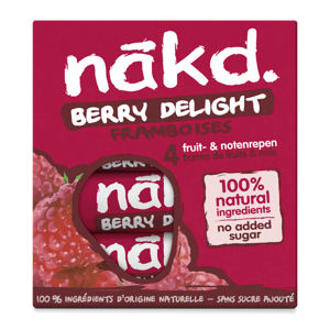 Nakd Berry delight 4 x 35 g