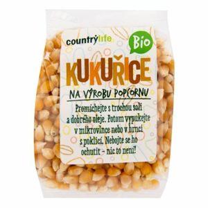 Country Life Kukuřice na výrobu popcornu BIO 200 g