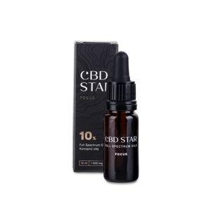 CBD STAR Focus olej 10% 10 ml CBD