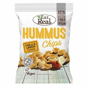 Eat Real Chipsy Humus, chilli a citron 45 g