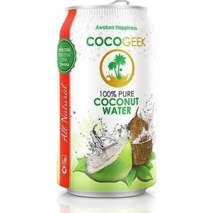 CocoGeek 100% Pure coconut water 330 ml