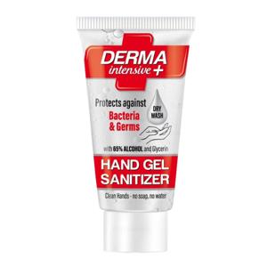 Derma intensive plus Čistící dezinfekce antibakteriální gel na ruce 50 ml