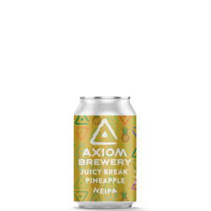 Axiom Brewery Pivo Juicy Break 16°P, Ananas NEIPA 330 ml