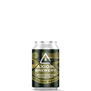 Axiom Brewery Pivo Sour Station 10°P, Berliner Weisse Pasionfruit 330 ml
