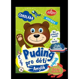 Amylon Puding čokoládový pro děti - bez lepku 40 g