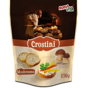Bonavita Crostini Mushrooms 130 g - expirace