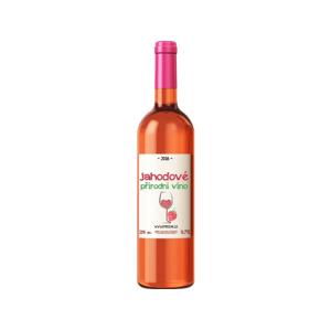 Rybízák Jahodové víno 750 ml