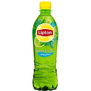 Lipton Ice Tea Green lime & mint 500 ml - expirace