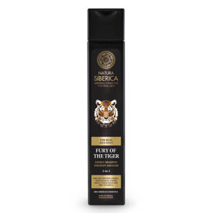 Natura Siberica MEN Energizující šampon na vlasy a tělo - Nezkrotnost tygra 250 ml