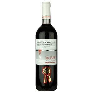 Vajbar Modrý Portugal jakostní víno s přívlastkem, pozdní sběr suché 0,75 l