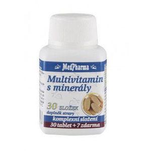 MedPharma Multivitamin s minerály, 30 složek 37 tablet