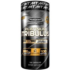 MuscleTech Platinum Tribulus 100 kapslí