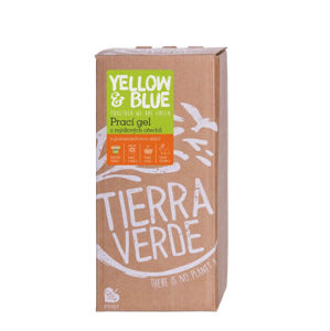 Yellow & Blue Prací gel z mýdlových ořechů s pomerančovou silicí (bag-in-box) 2 l