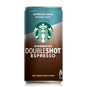 Starbucks No Added Sugar Doubleshot Espresso 0,2 l