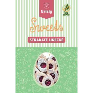 GRIZLY Sweets Směs na strakaté linecké bez lepku 415 g
