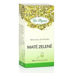 Dr. Popov Čaj maté zelené list 30 g (20 x 1,5 g)