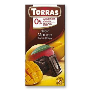 Torras Hořká čokoláda s mangem 75 g