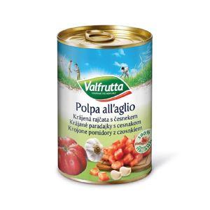 Valfrutta Krájená rajčata s česnekem 400 g
