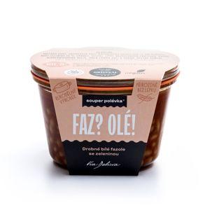 Via Delicia Fazolová polévka se zeleninou 300 g