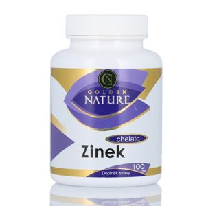 Golden Nature Zinek Chelate 100 tablet
